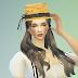 lace ribbon straw hat_레이스 리본 밀짚모자_여성 모자