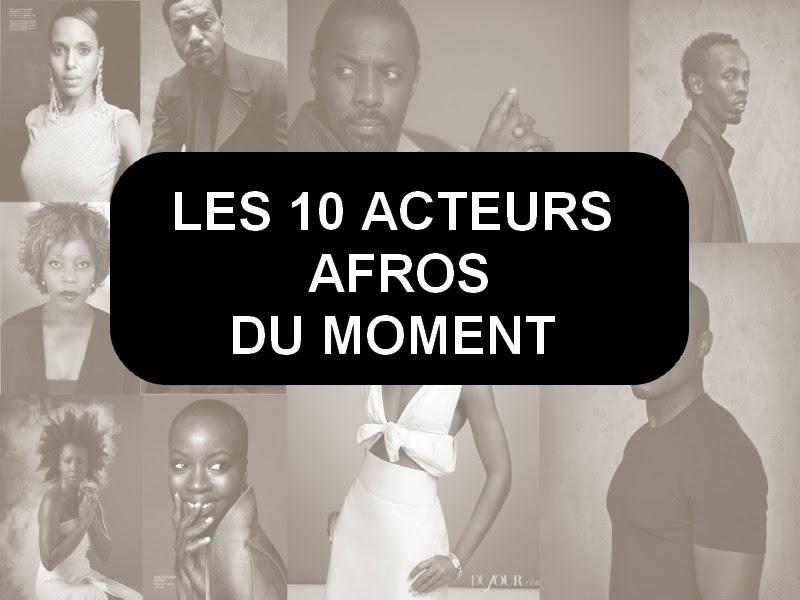 acteurs afros