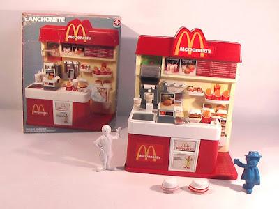 Lanchonete de brinquedo - McDonalds