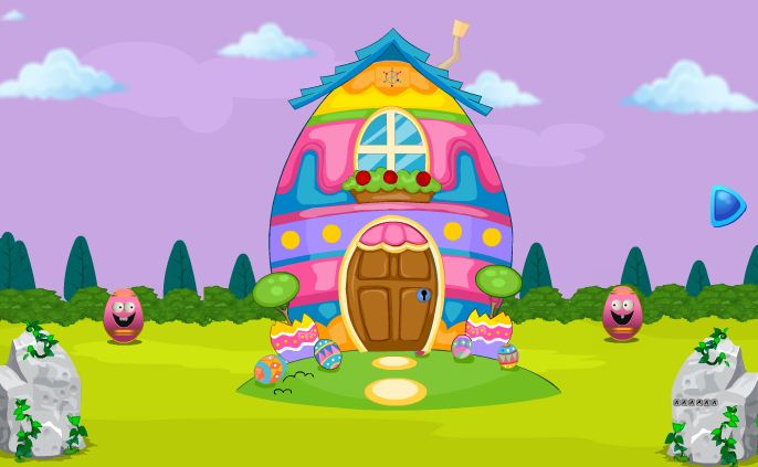 Egg House Smiley Escape Walkthrough