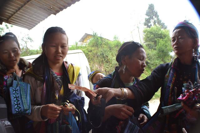 Sapa, Nord, Vietnam, treck