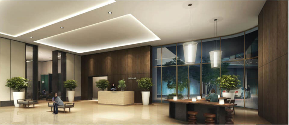 The Lana Alam Sutera Lobby Apartment