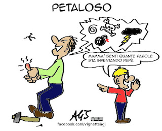 petaloso, neologismi, accademia della crusca, social, virale, vignetta umorismo