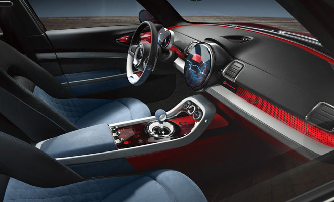 Mini Clubman Concept: interior