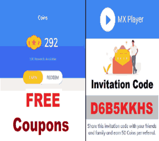 MX Player Referral Code: Get FREE 50 Coins