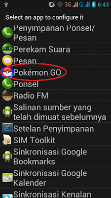 Cara Bermain Pokemon GO di Smartphone Dengan RAM 512 MB