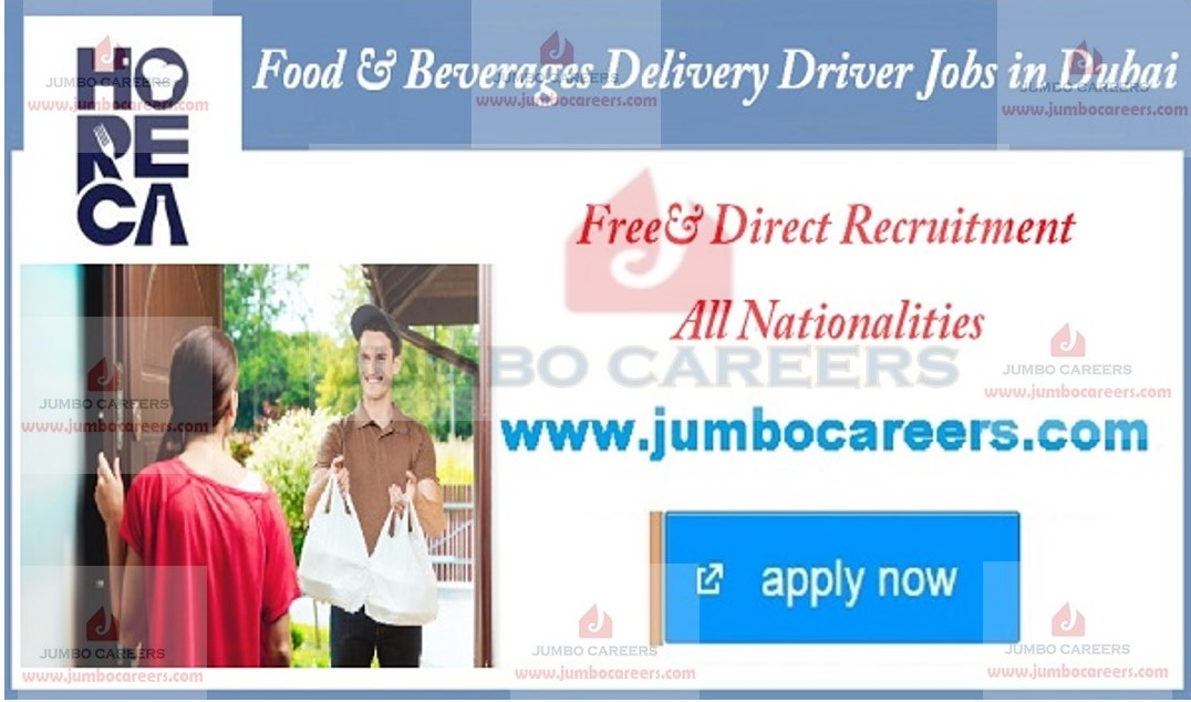 food delivery drivers jobs near me