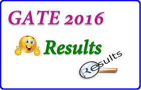 GATE 2016 Results declared check results www.gate.iisc.ernet.in