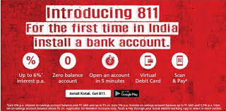 Flipkart - Get 99% Discount Using Kotak 811 Virtual Debit Card