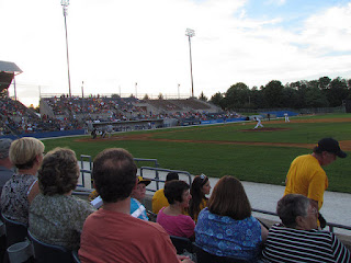First pitch, Boulders vs. Miners
