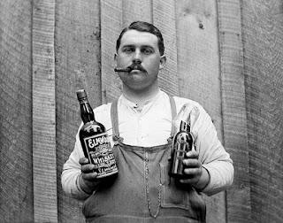 Bartender serving whiskey joke picture