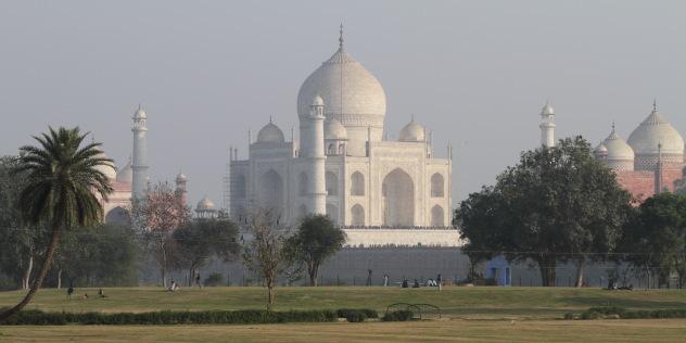 Stunning view of the Taj Mahal, Agra, India