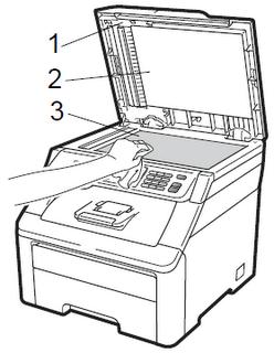 Limpieza de teclado, mouse, monitor y escáner