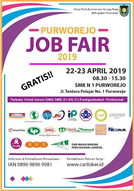 Job Fair Resmi di Jawa Tengah