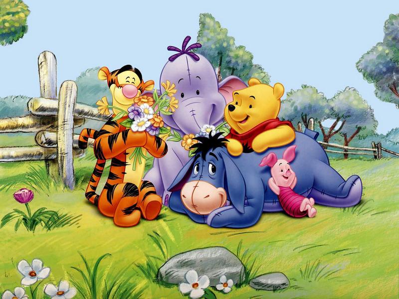 GO GO GO: Disney Winnie The Pooh Wallpapers