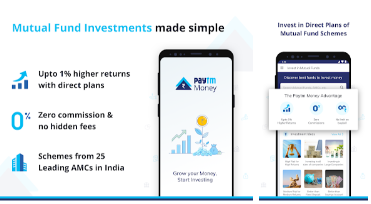 Paytm Money Mobile App for Digital Investment - Youth Apps