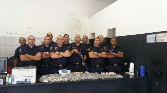Guarda Civil de Santana de Parnaíba detém traficante com grande quantidade de drogas no Jardim Isaura