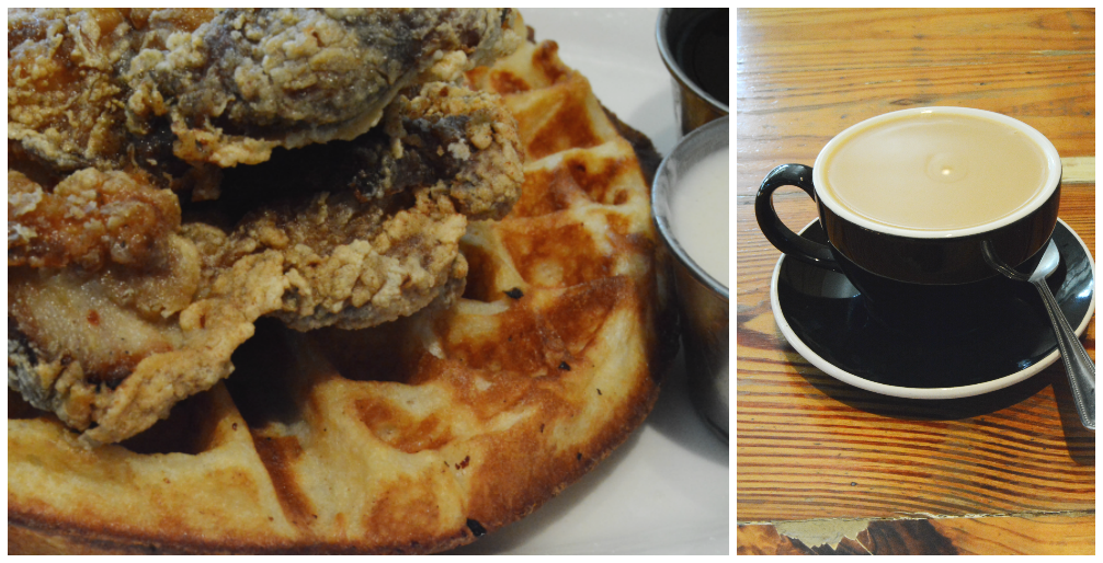 Oddfellows Brunch Chicken and Waffles