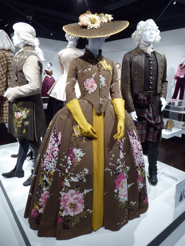 Claire Fraser Outlander season 2 Paris Dressage costume