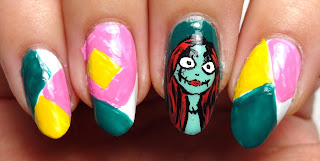 Patch Nail Art