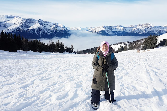 Farah at Lake Louise Ski Resort