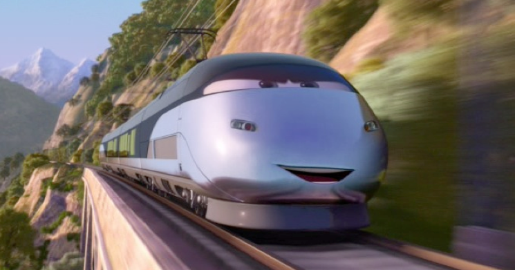 Dan The Pixar Fan Cars 2 Stephenson The Spy Train