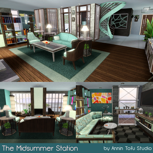 Sims Tofu Studio: The Midsummer Station