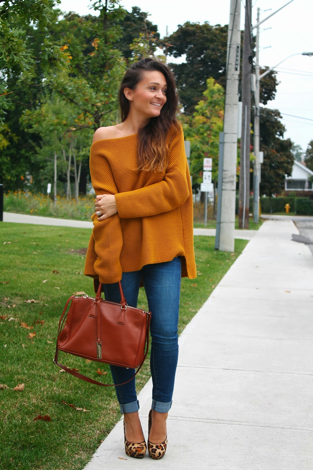 Oversized sweater, zara sweater, fall trend, fall sweater, blogerke, dzemper, toronto fashion blogger, toronto street style