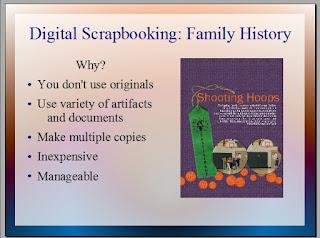 Digital Scrapbooking Family History