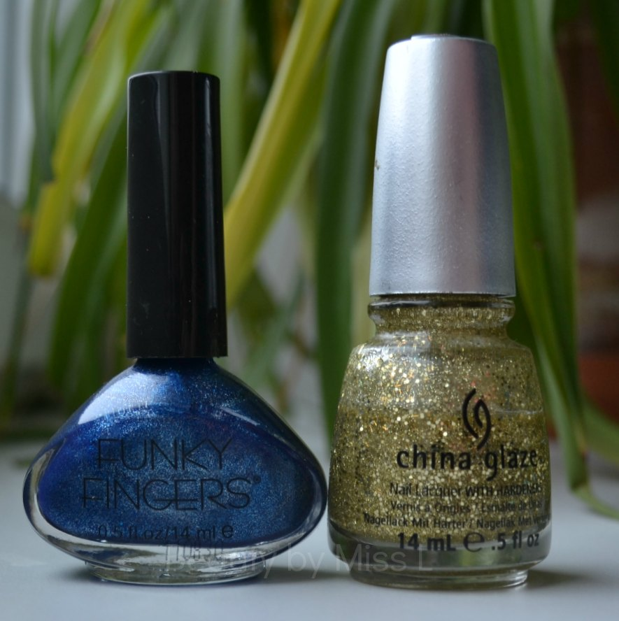 Funky Fingers Sound Check, China Glaze Blonde Bombshell