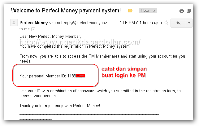 Ngetik Dapat Dollar: Panduan Membuat Rekening Perfect Money