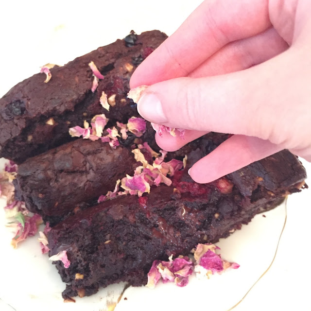 Bordersfields rapeseed oil chocolate brownies