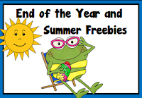 End of the Year and Summer Freebies Pinterest Board