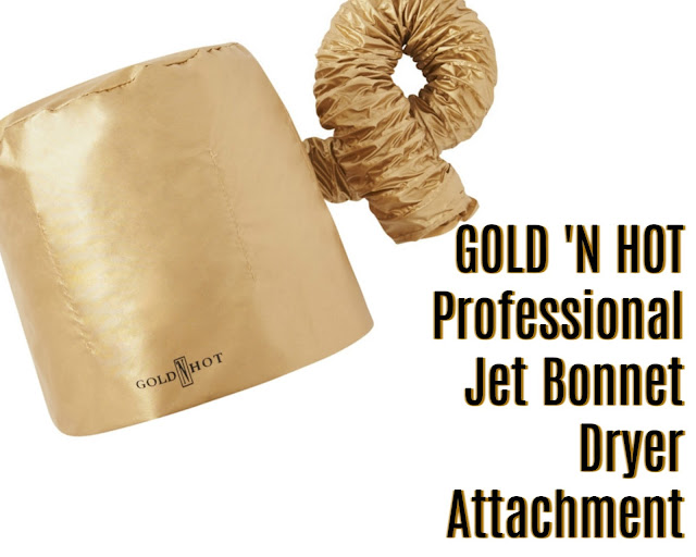 Click here to buy the Gold n Hot Jet Bonnet Dryer Attachment as a reasonably priced hooded hair dryer.