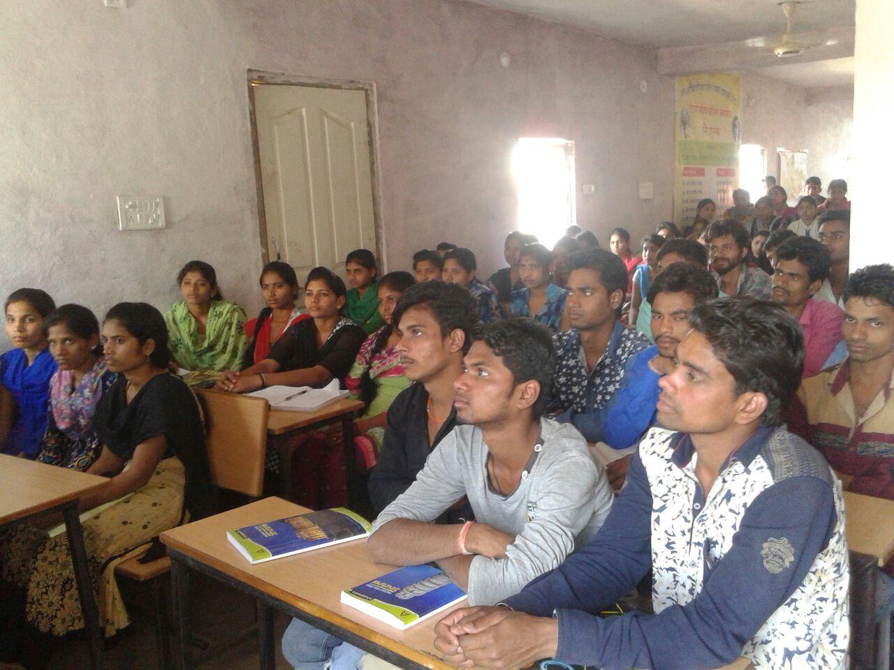Eklavya Tantya Bhil started the free coaching classes-एकलव्य टंट्या भील निःशुल्क कोचिंग क्लासेस का हुआ शुभारम्भ