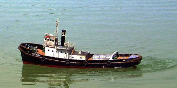 Model ships photo book: An old Tugboat