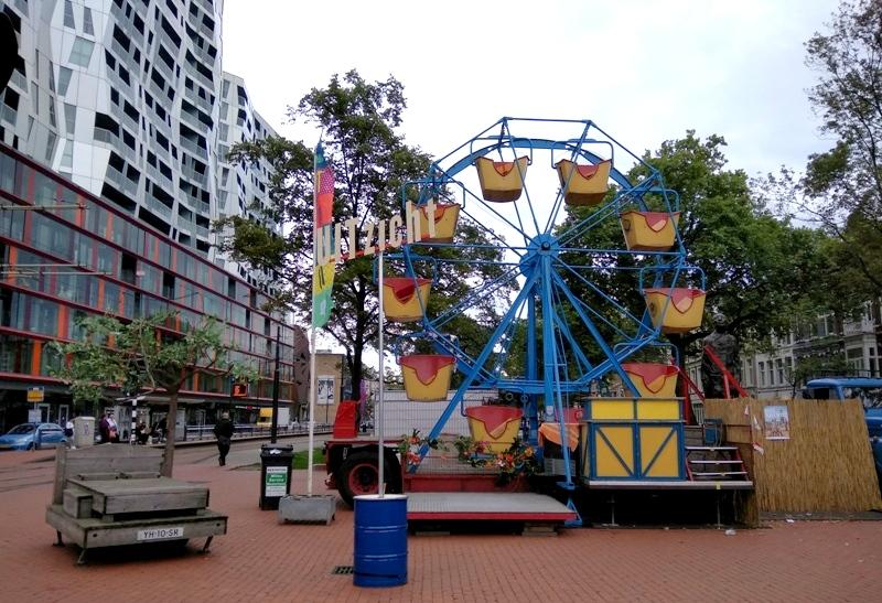 Arminius surprise ferris wheel kruisplein mauritsweg Rotterdam Uitdagen