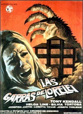 Las garras de Lorelei (1974) DescargaCineClasico.Net