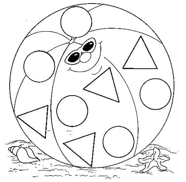 Figuras Geométricas -Dibujos para colorear - Ciclo Escolar