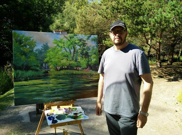 Beni rodriguez pintor asturiano nacido en gij n el 3 de - Pintores en gijon ...