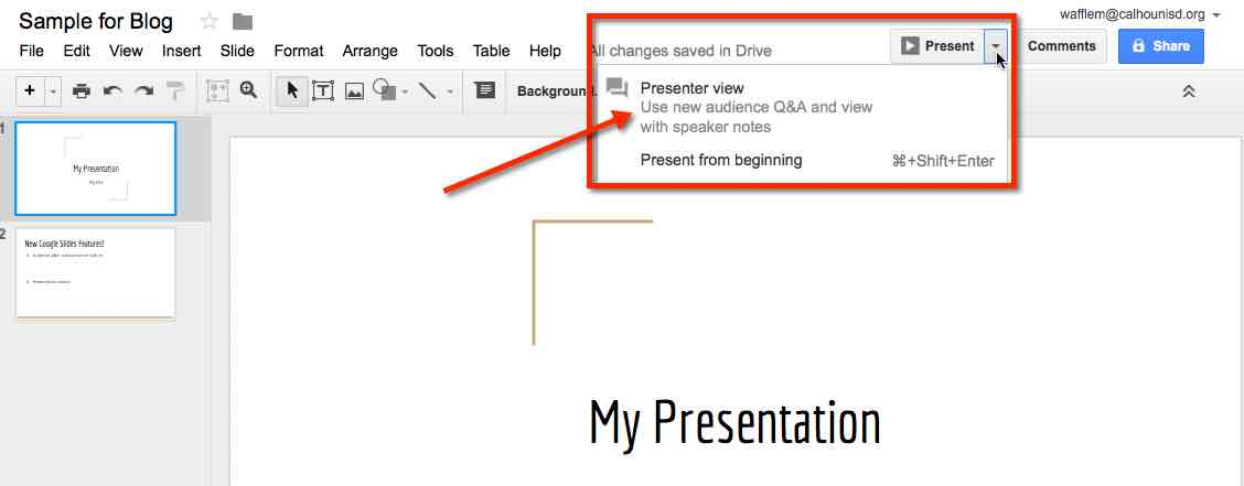 how to make text wrap on google slides