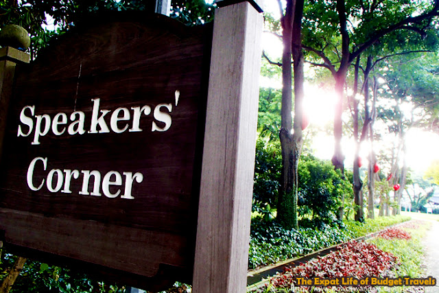 bowdywanders.com Singapore Travel Blog Philippines Photo :: Singapore :: Hong Lim Park - Speakers' Corner in Singapore