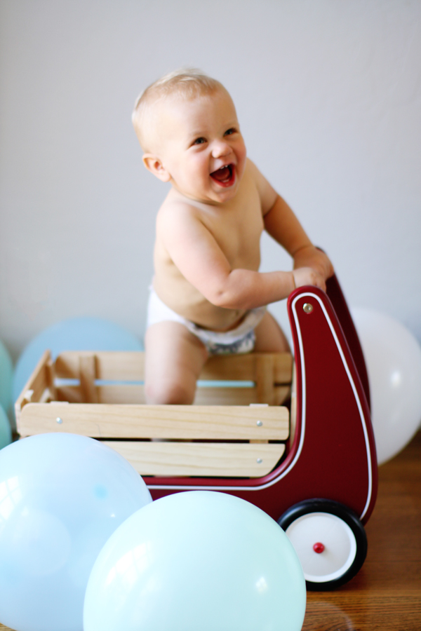 First birthday present - Radio Flyer wagon