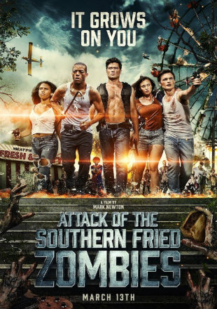 Attack of The Southern Fried Zombies 2017 BRRip 720p Dual Audio In Hindi English