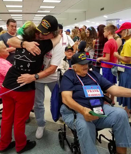 Honor Flight Thank You Letters