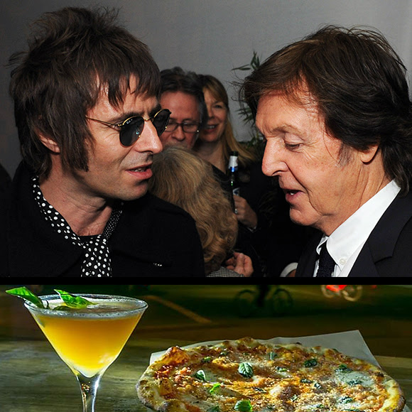 Liam Gallagher et Paul McCartney : pizza ou cocktail ?