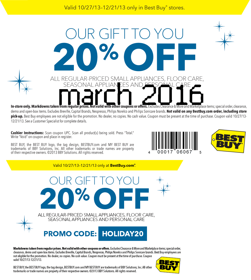 Coupon code for best buy