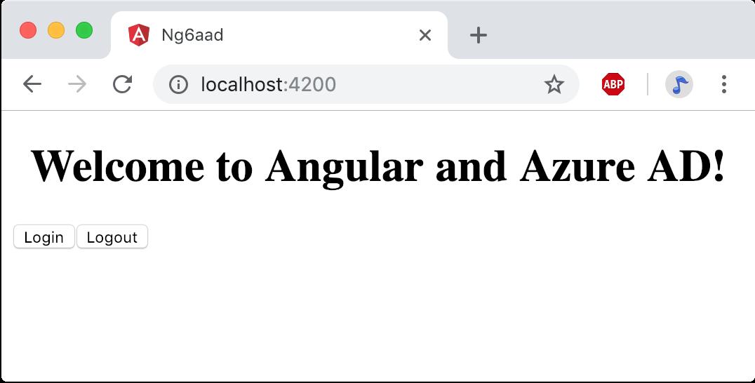 Angular and Azure AD