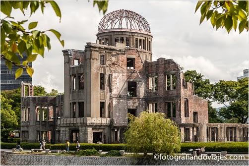 cúpula de la bomba atómica en Hiroshima, Japon