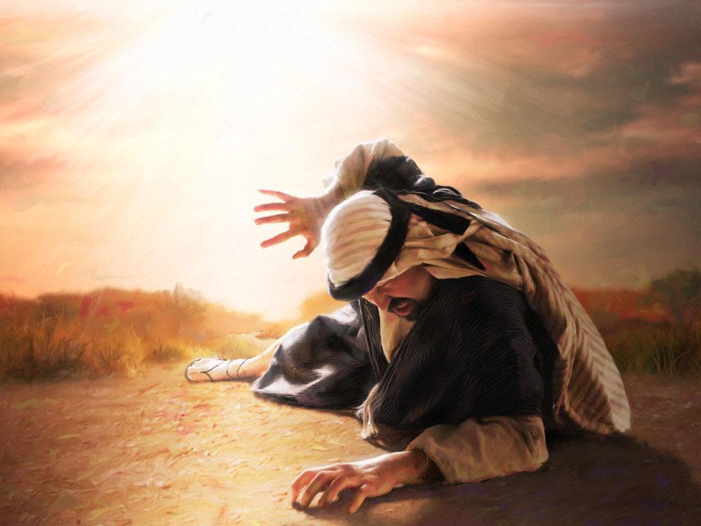 Cristo aparece para Paulo no caminho para Damasco